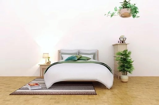 Feng shui bedroom clutter free