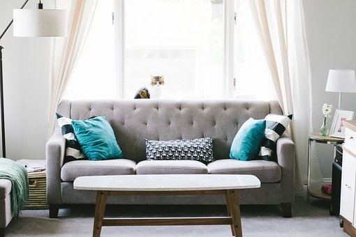 Feng Shui Living Room curtains
