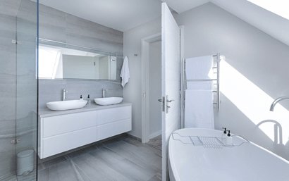 Feng Shui Tips for Challenging Bathroom Locations