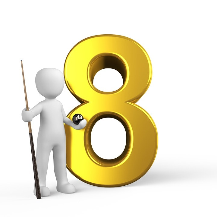 Feng Shui Lucky Numbers Eight