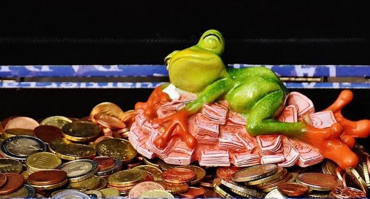 Feng shui money coins