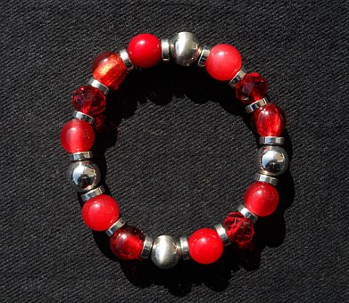 Color red jewelry