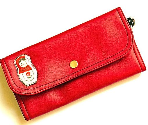 Feng shui red purse