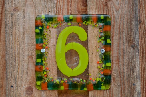 Lucky House Numbers 6
