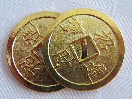 FengShui coins for wealth