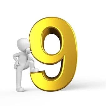 Feng Shui Lucky Numbers Nine