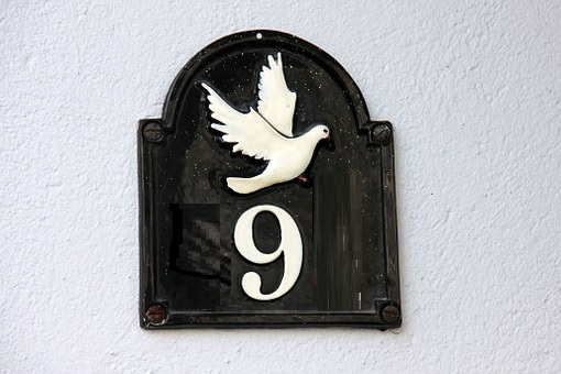 Lucky House Numbers 9