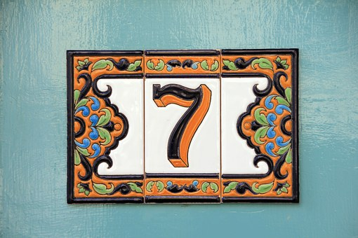 Lucky House Numbers 7