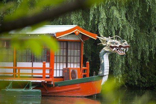 Feng Shui Dragon Boat