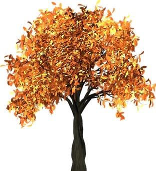 Golden Feng Shui Tree