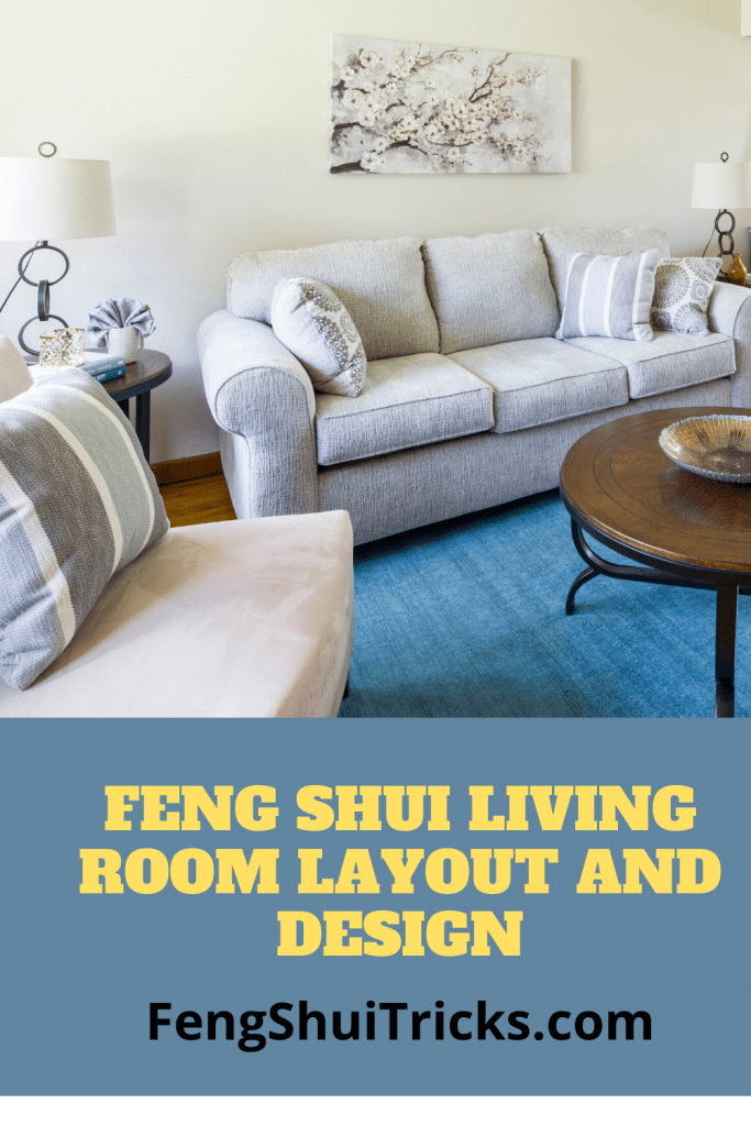 Feng Shui Living Room Layout Design 1