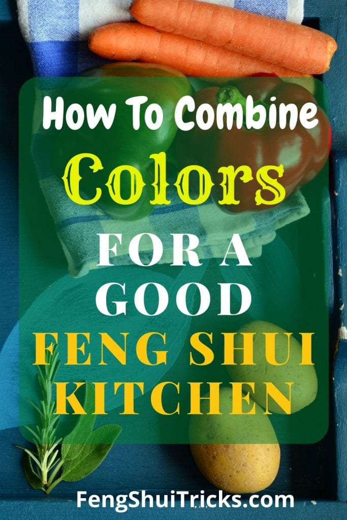 feng shui kitchen colors