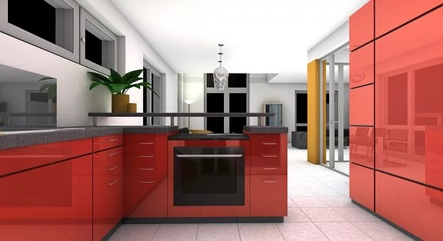 Feng Shui Kitchen Colors Red