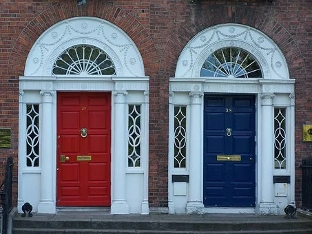 Feng Shui For Front Door Colors