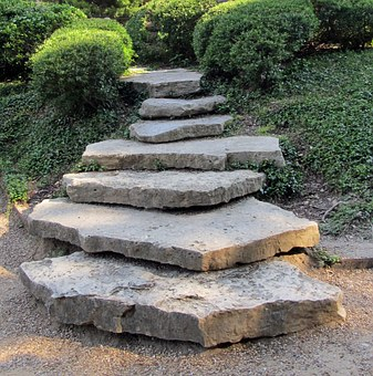 Garden Stepping Stones For Path
