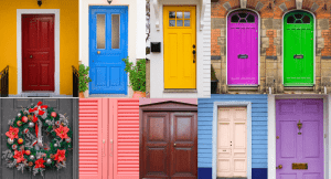 Know Your Front Door Color Meaning [Turquoise | Red | Green] In Feng Shui For Prosperity