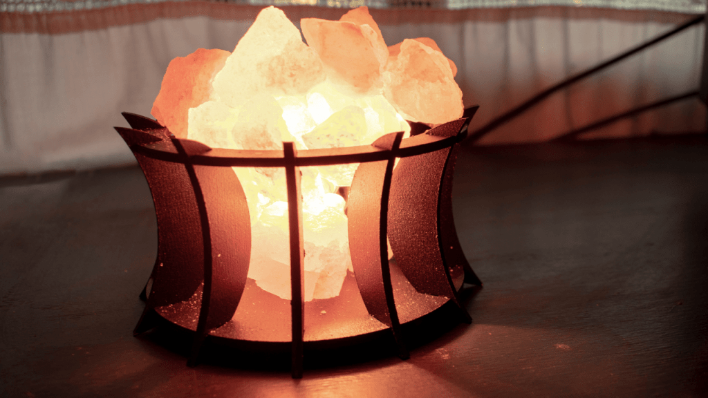 Feng Shui Salt Water Cure Lamps