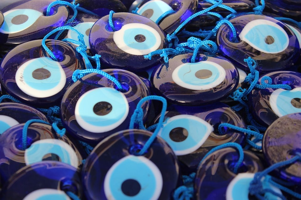 Evil Eye Protection Placement