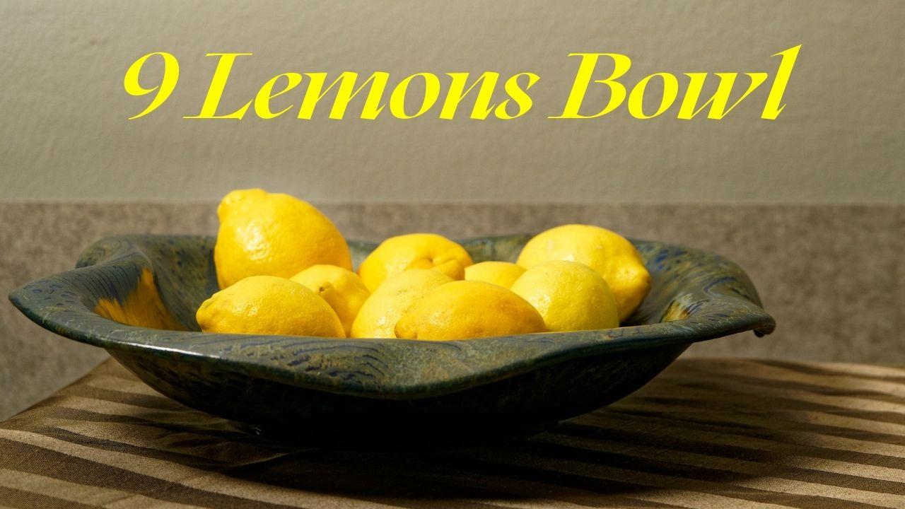 9 Lemons In A Bowl