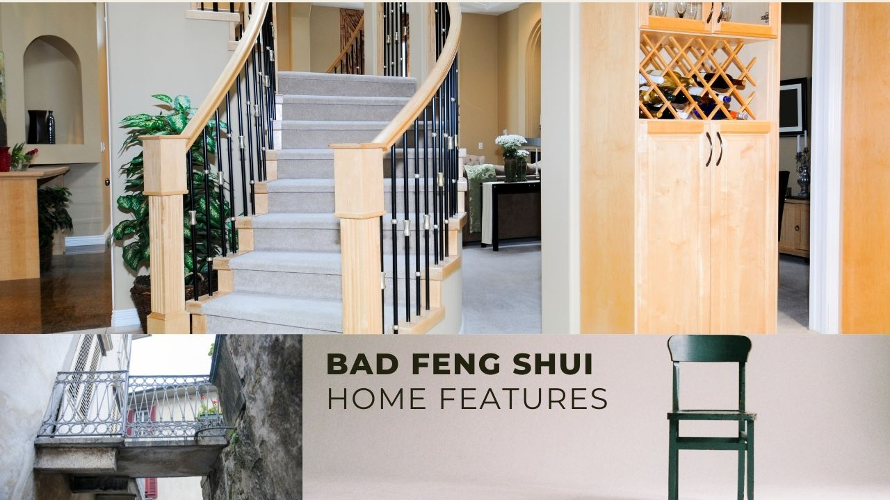 Bad Feng Shui House Features