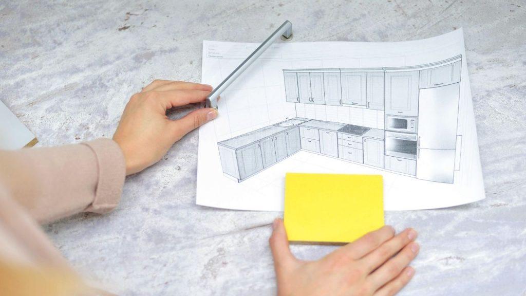 sample kitchen feng shui layout