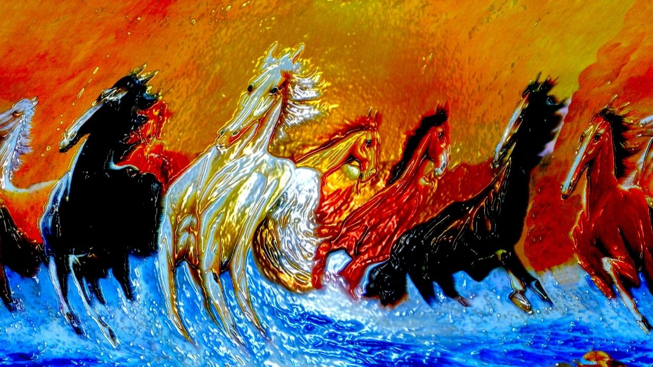 7 Horses Painting Meaning
