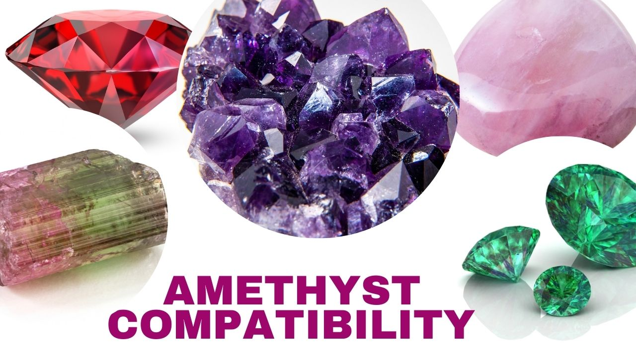 Amethyst Stone Compatibility With Other Gemstones